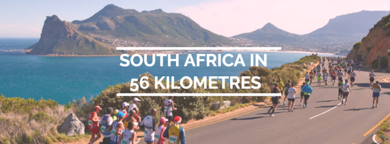 South Africa in 56 Kilometres